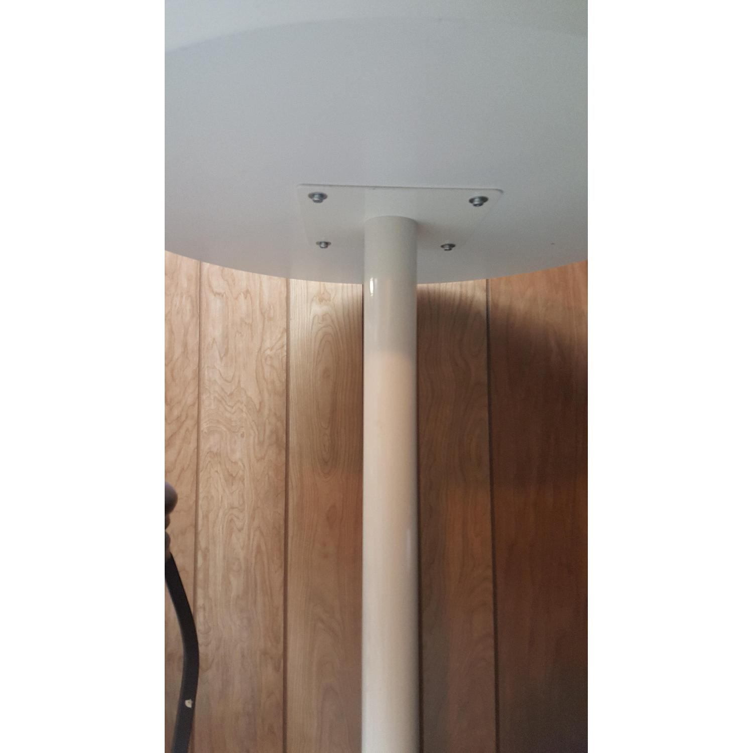 Tall White Bar Table - image-3