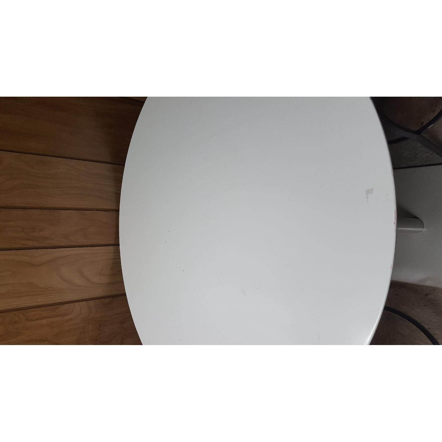 Tall White Bar Table - image-5