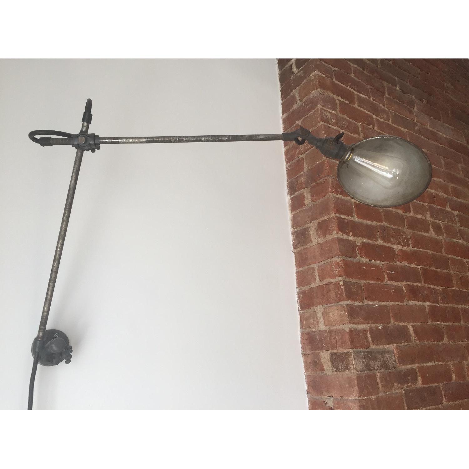 Vintage Industrial Wall-Mounted Lamp - image-2