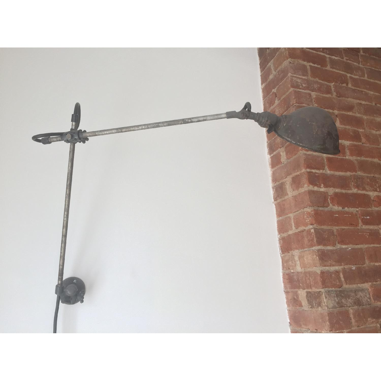 Vintage Industrial Wall-Mounted Lamp - image-3