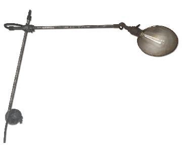 Vintage Industrial Wall-Mounted Lamp