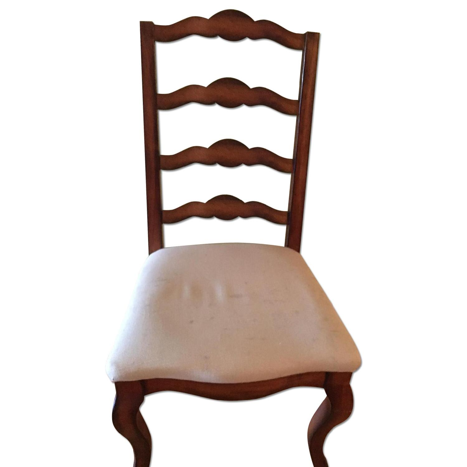 Domain Furniture Ladderback Dining Room Chairs - image-0