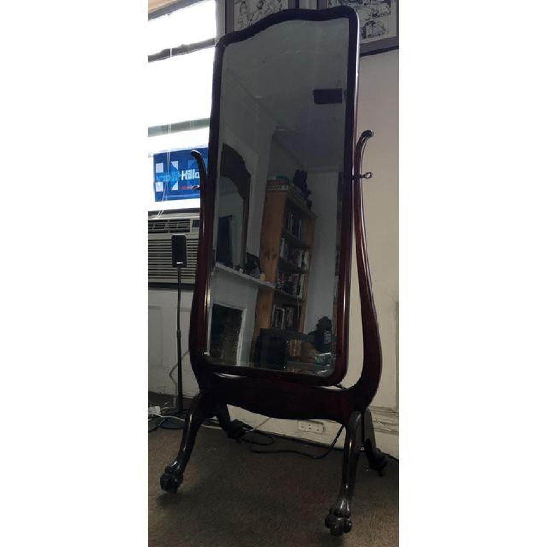 Antique Cheval Mirror - image-1