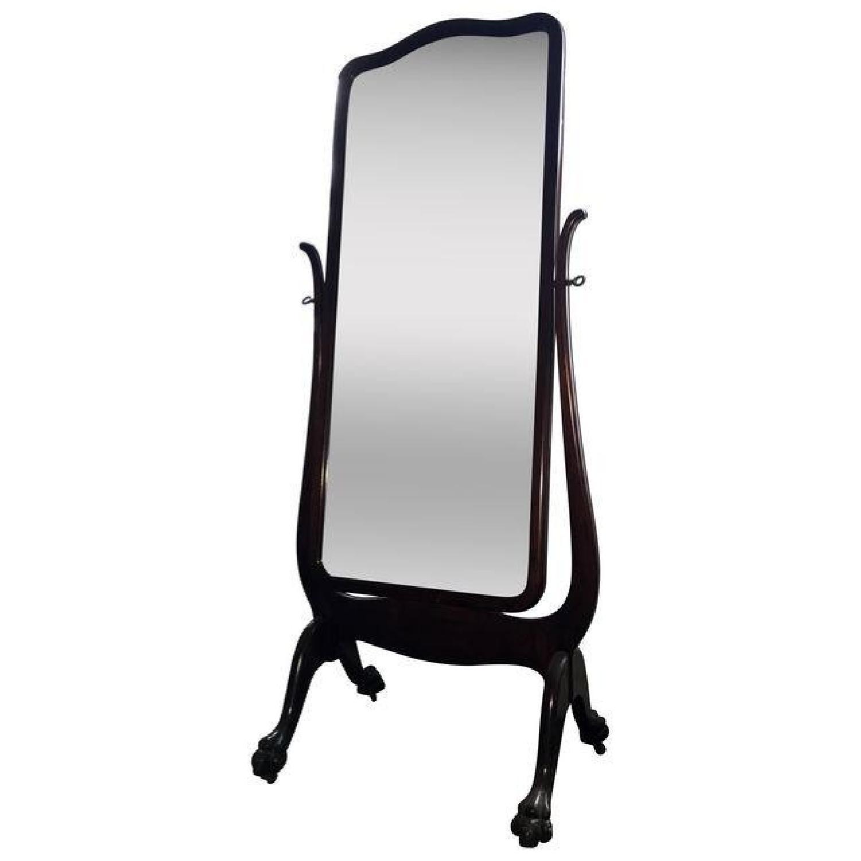 Antique Cheval Mirror - image-0