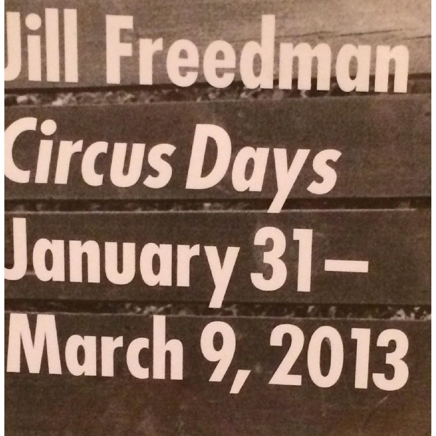 Jill Freedman Signed/Framed Black & White Photography Circus Tiger Poster - image-2