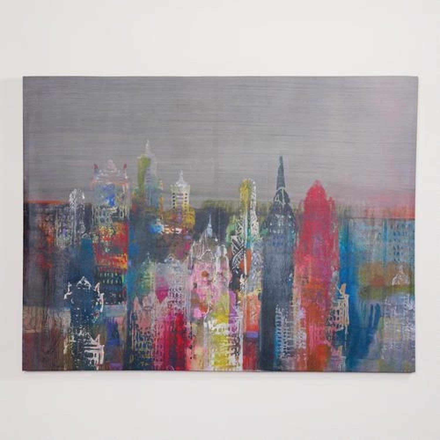 World Market NYC Skyline Canvas - image-1