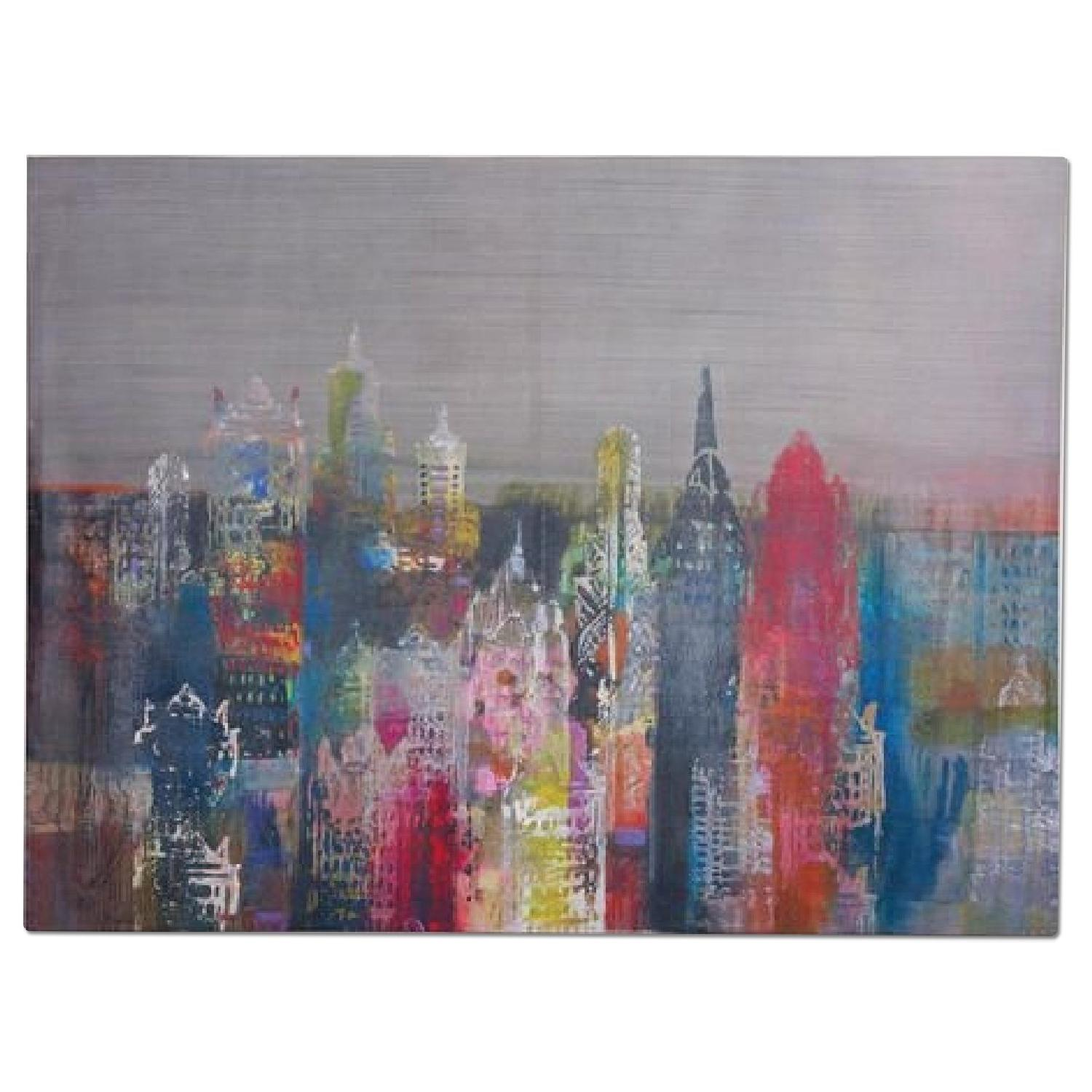 World Market NYC Skyline Canvas - image-0