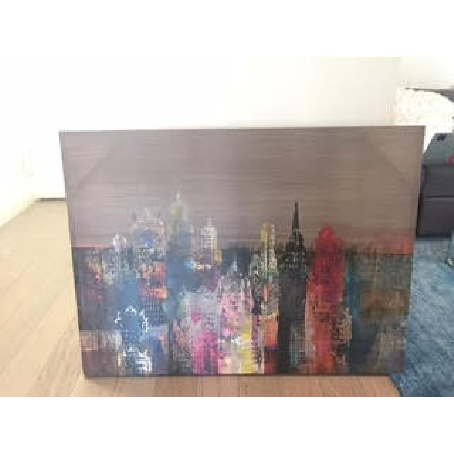 World Market NYC Skyline Canvas - image-2