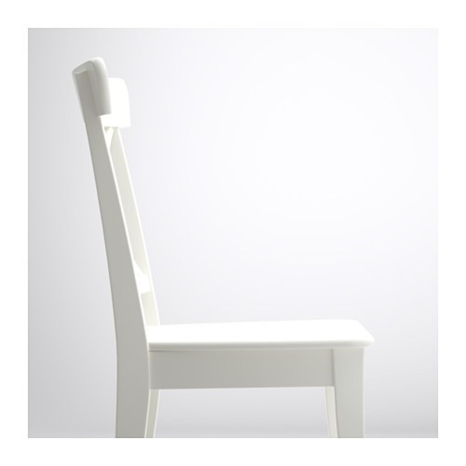 Ikea White Dining Chair - image-3