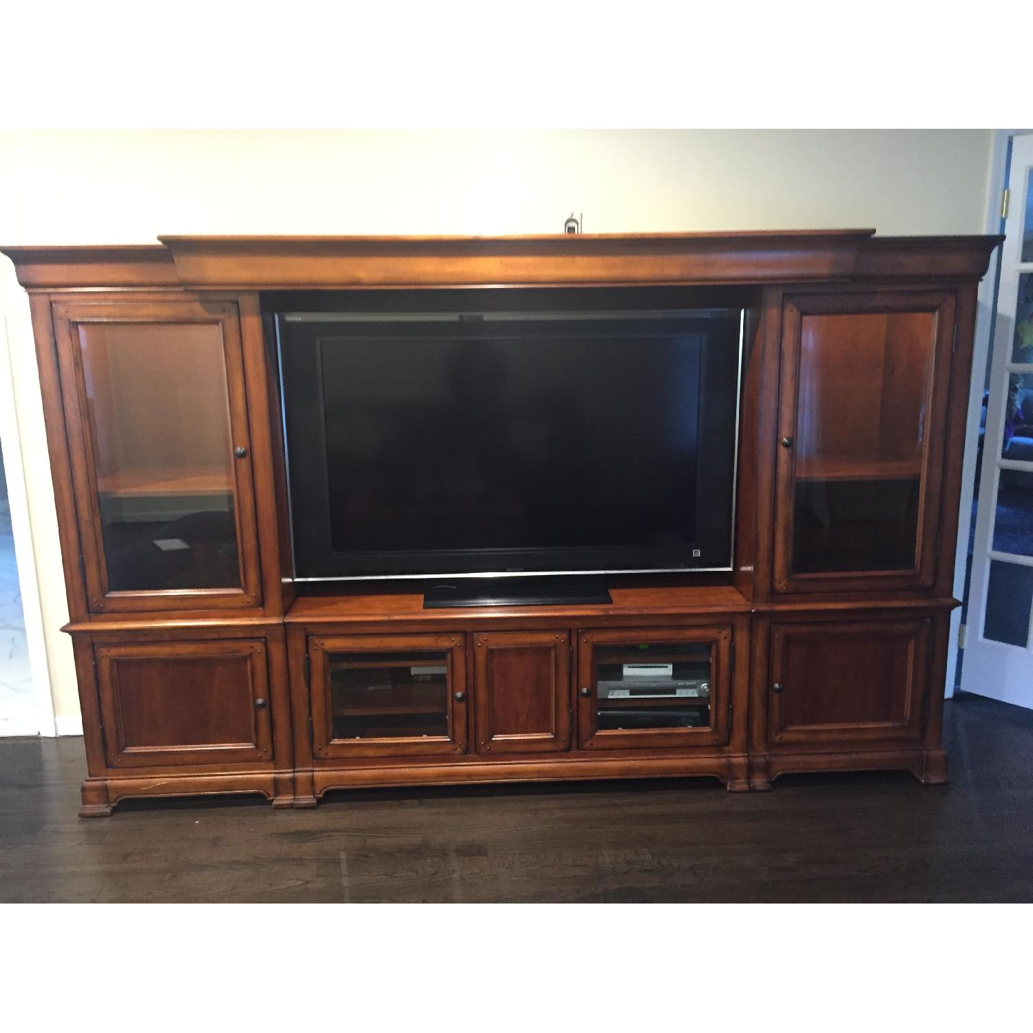 Hooker Furniture Home Entertainment Wall Unit - image-1