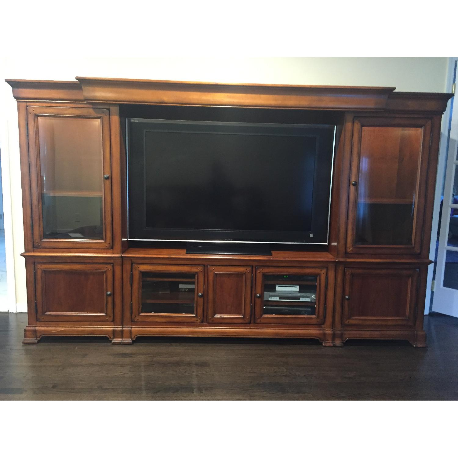 Hooker Furniture Home Entertainment Wall Unit - image-2