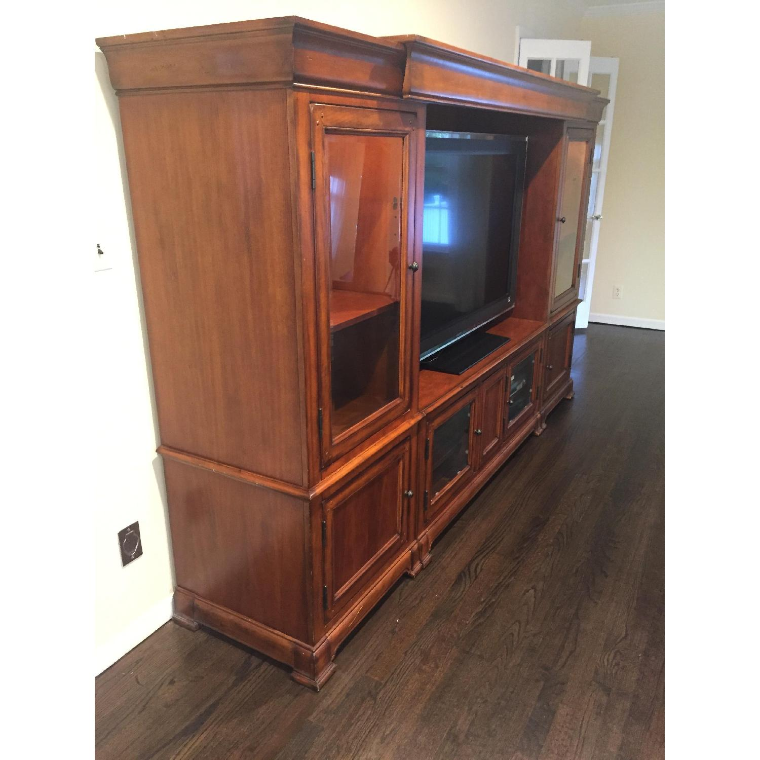 Hooker Furniture Home Entertainment Wall Unit - image-3