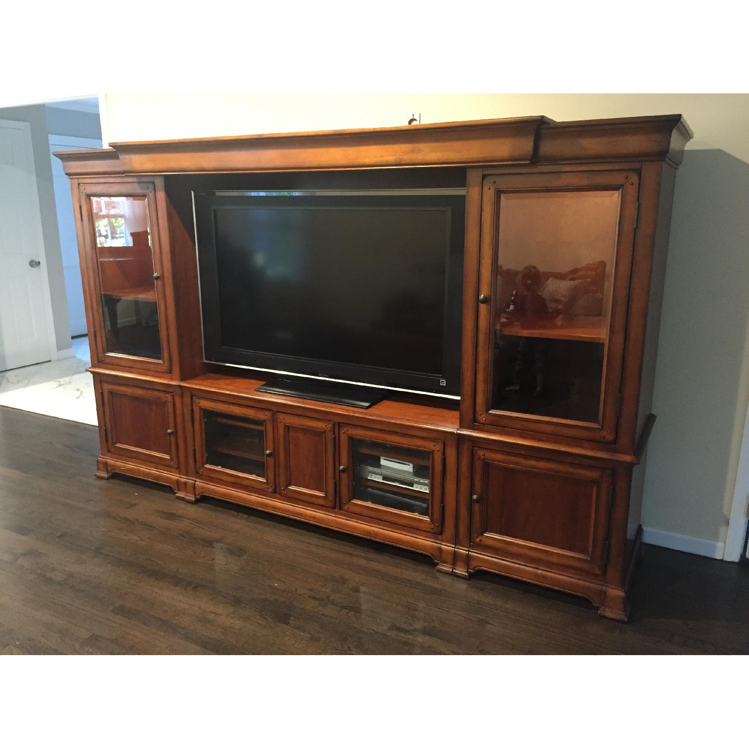 Hooker Furniture Home Entertainment Wall Unit - image-4