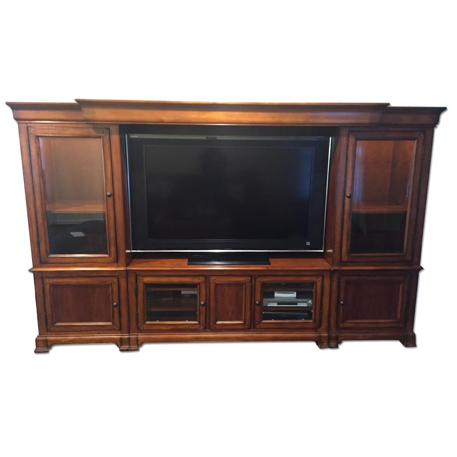 Hooker Furniture Home Entertainment Wall Unit - image-0