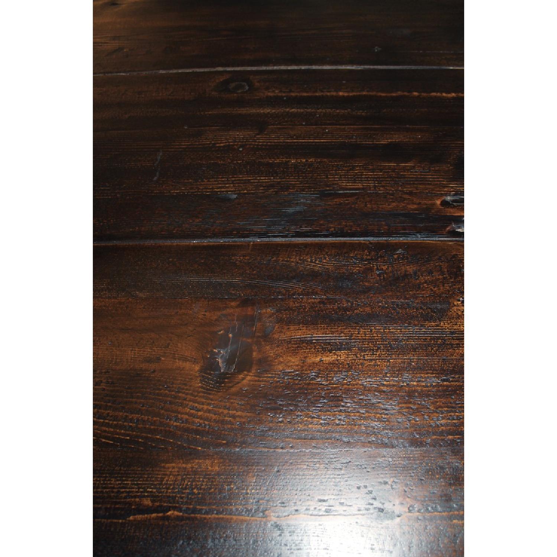 Restoration Hardware Trestle Dining Table - image-5