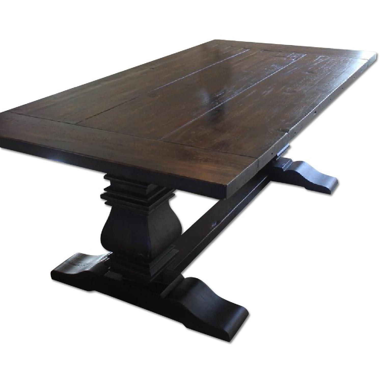 Restoration Hardware Trestle Dining Table - image-0