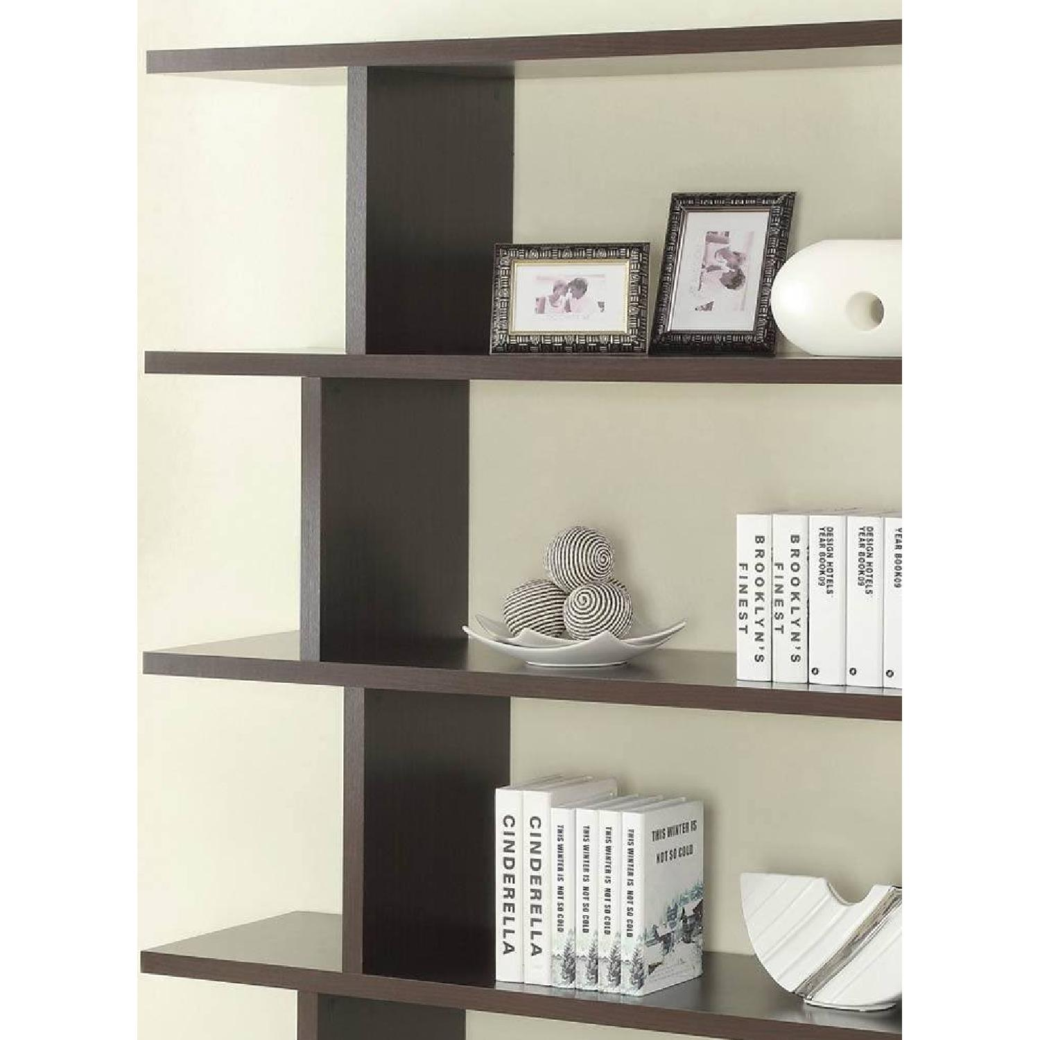 Book/Display Shelf in Cappuccino Finish - image-2