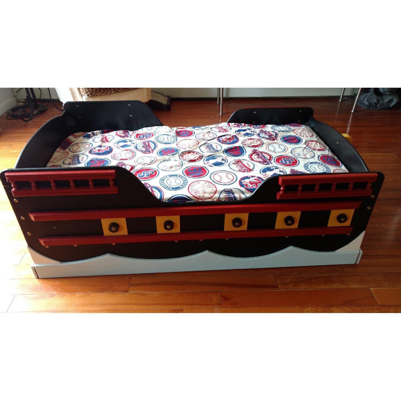 Pirate Ship Toddler Bed - image-2