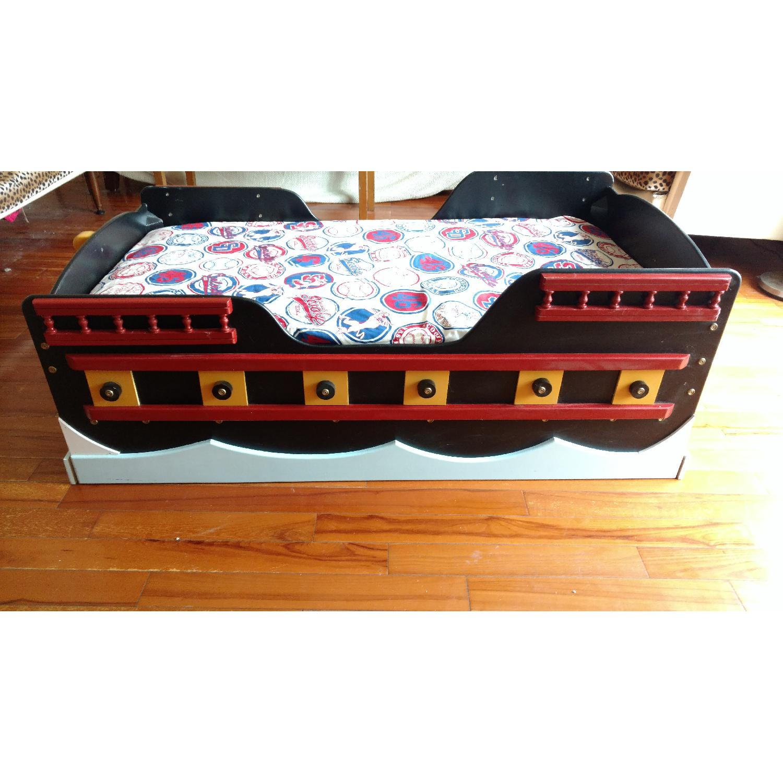 Pirate Ship Toddler Bed - image-3