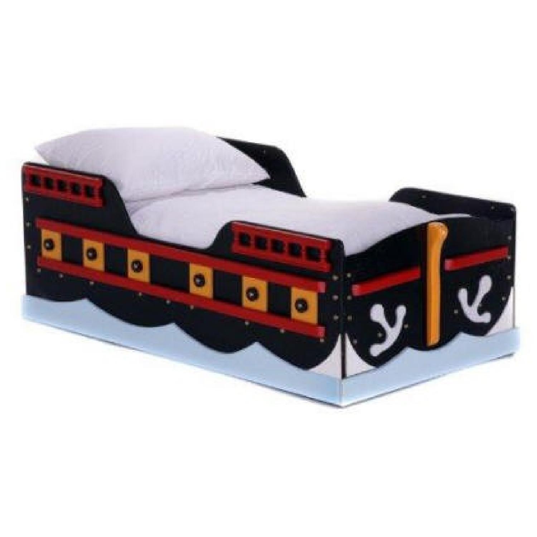 Pirate Ship Toddler Bed - image-5