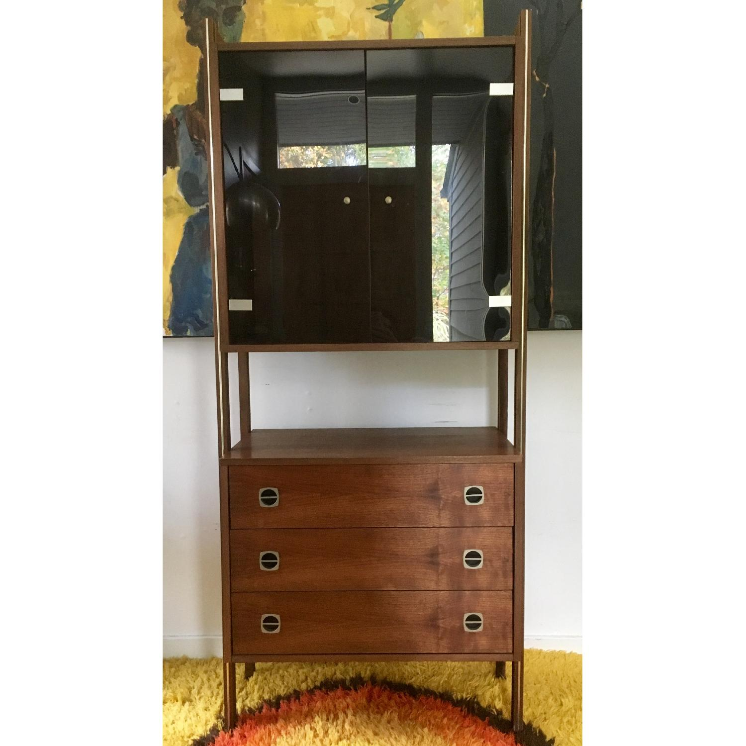 Mid Century Scandinavian Wall/Bar Unit - image-1