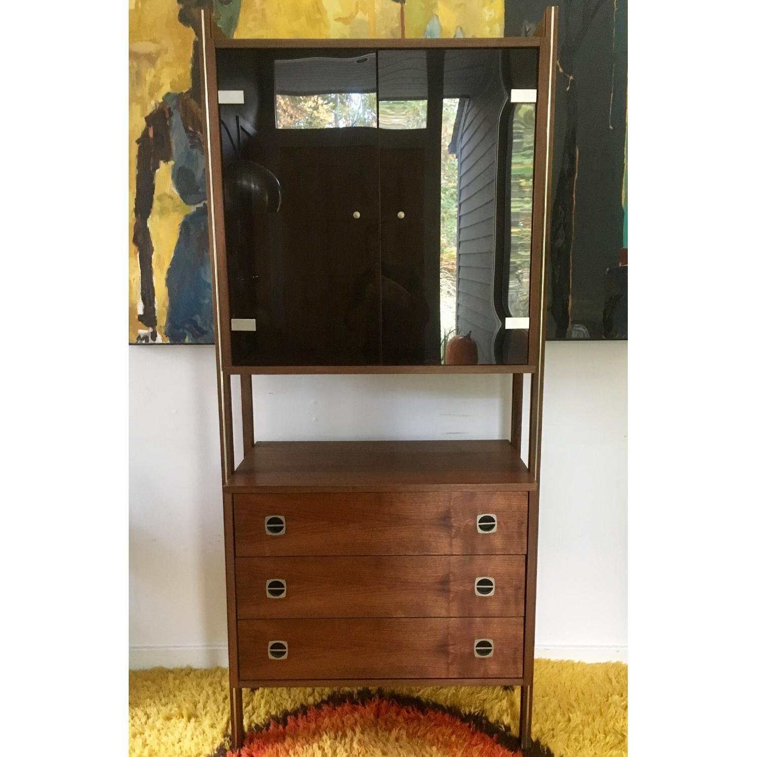 Mid Century Scandinavian Wall/Bar Unit - image-4
