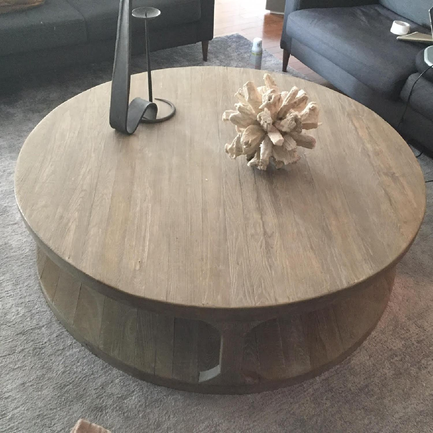 Restoration Hardware Martens Coffee Table - image-1