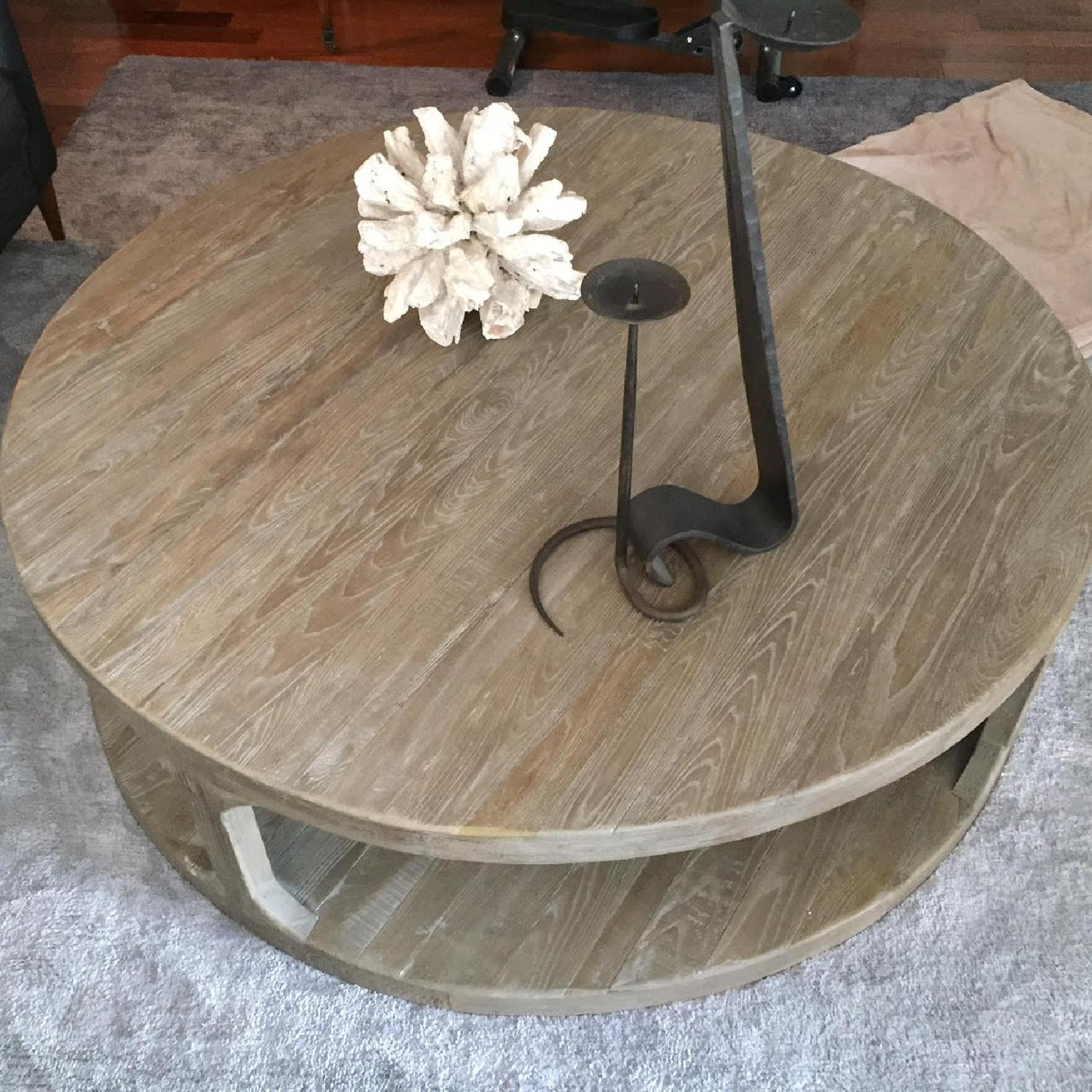 Restoration Hardware Martens Coffee Table - image-2