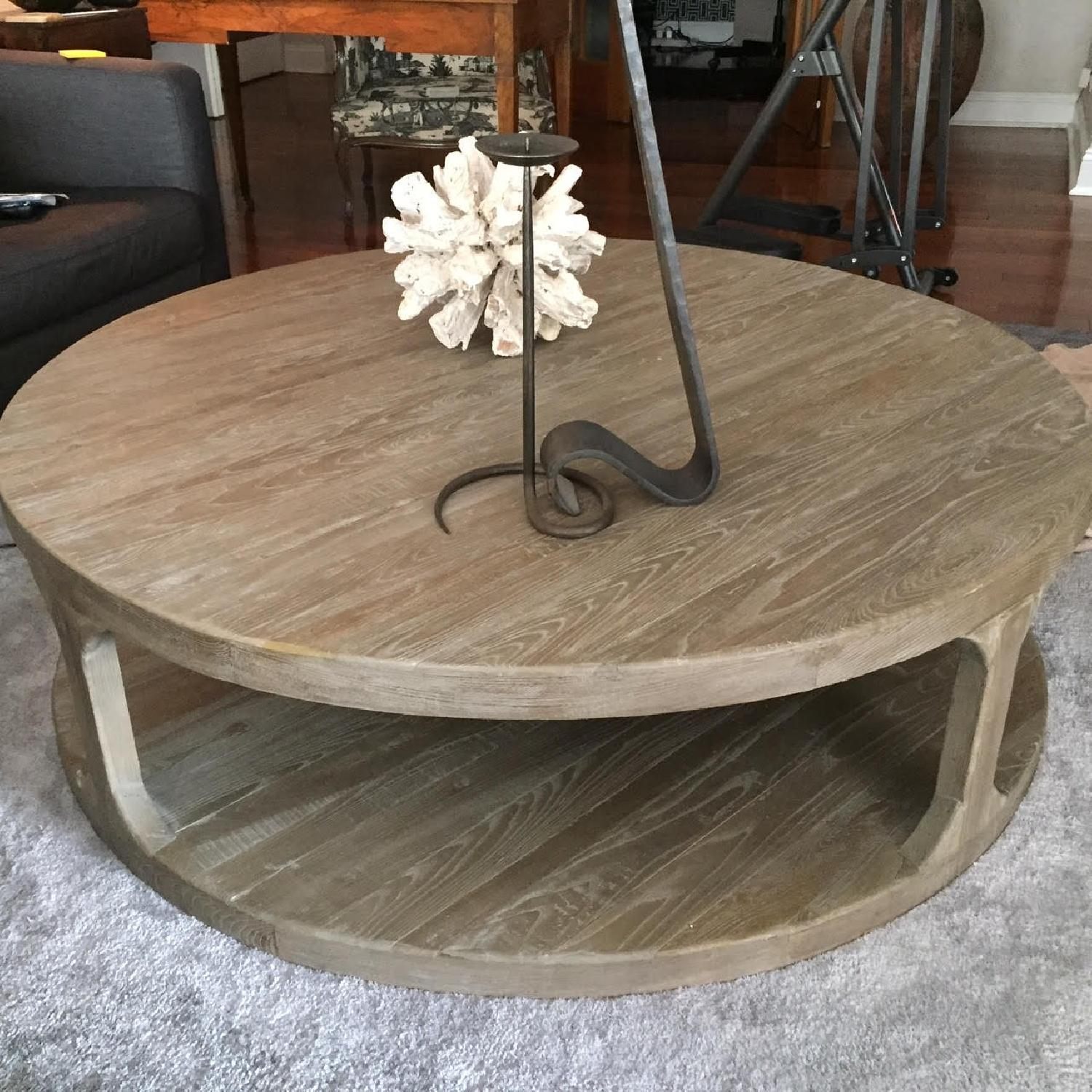 Restoration Hardware Martens Coffee Table - image-3