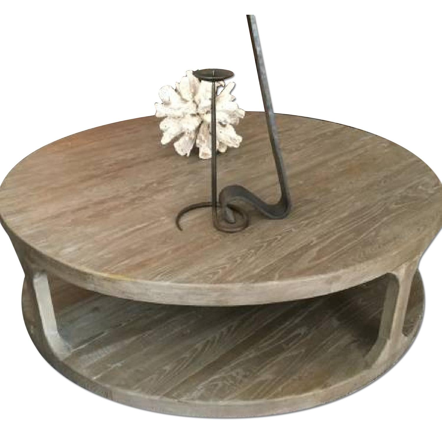 Restoration Hardware Martens Coffee Table - image-0