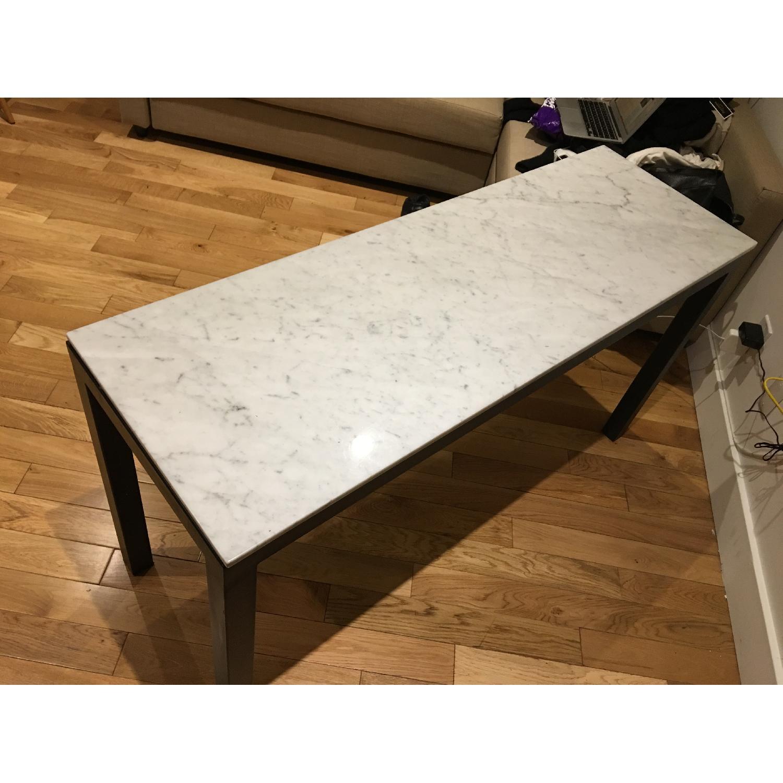 Room & Board Venatino Marble Rand Console Table - image-4