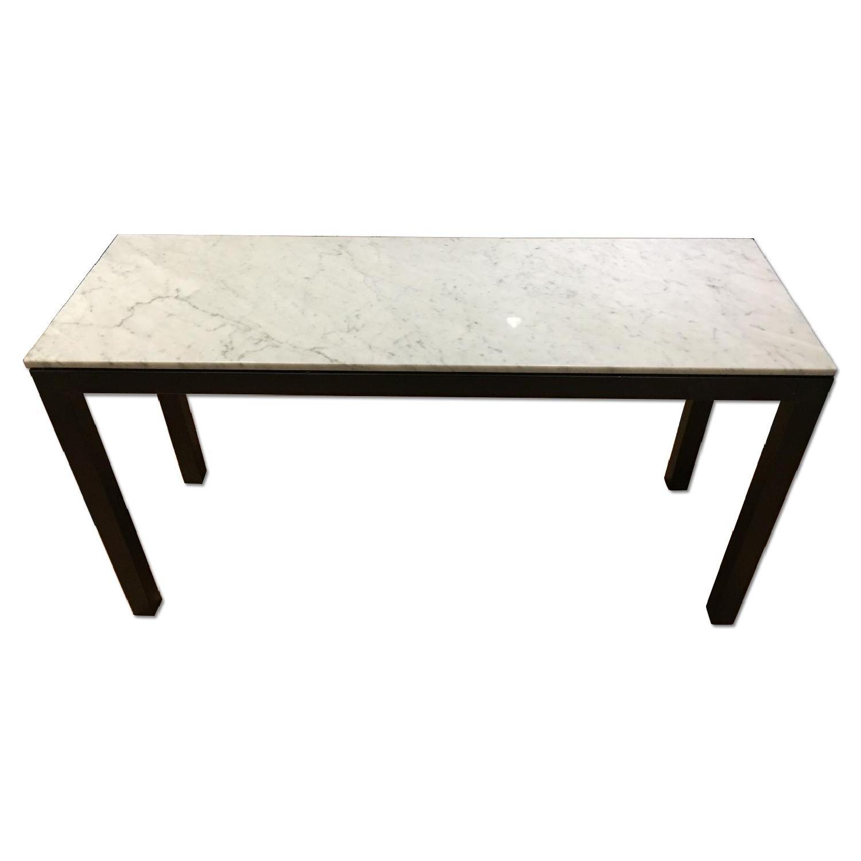 Room & Board Venatino Marble Rand Console Table - image-0