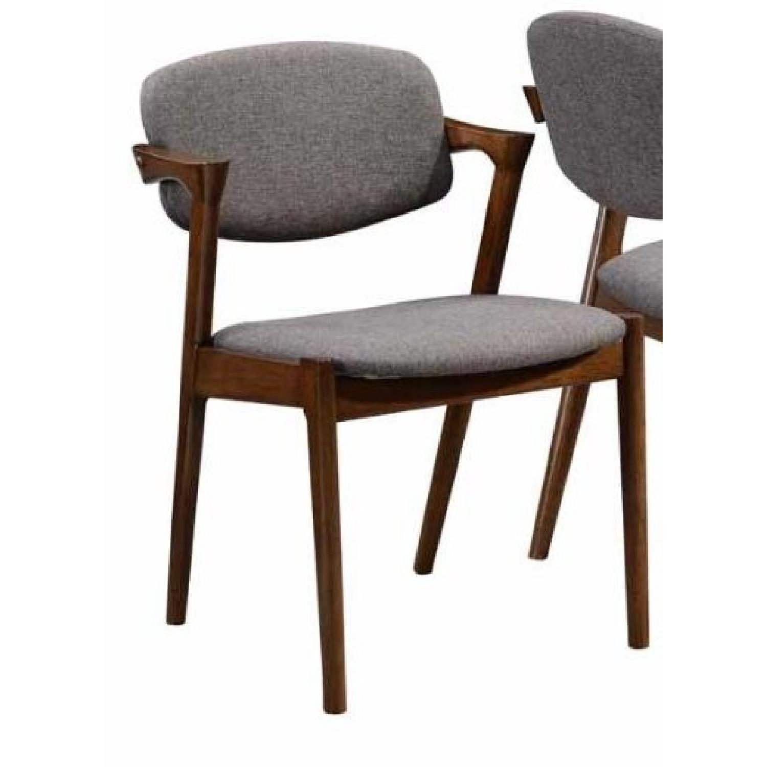 Mid-Century Style Arm Chair in Walnut Color - image-2