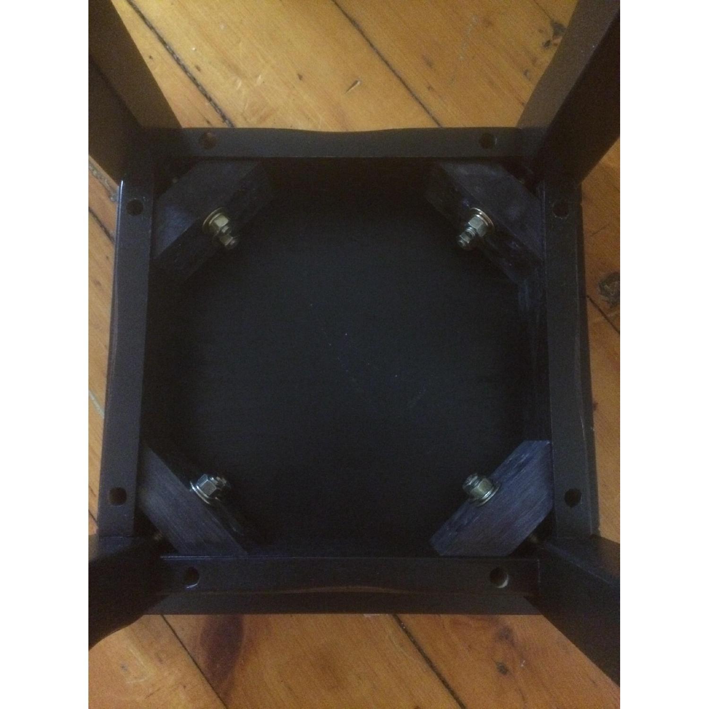 Crate & Barrel Black Side Tables - image-5