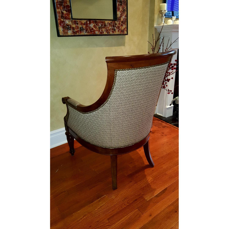 Thomasville Chair & Ottoman - image-2