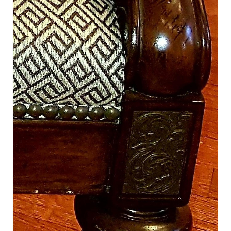 Thomasville Chair & Ottoman - image-6