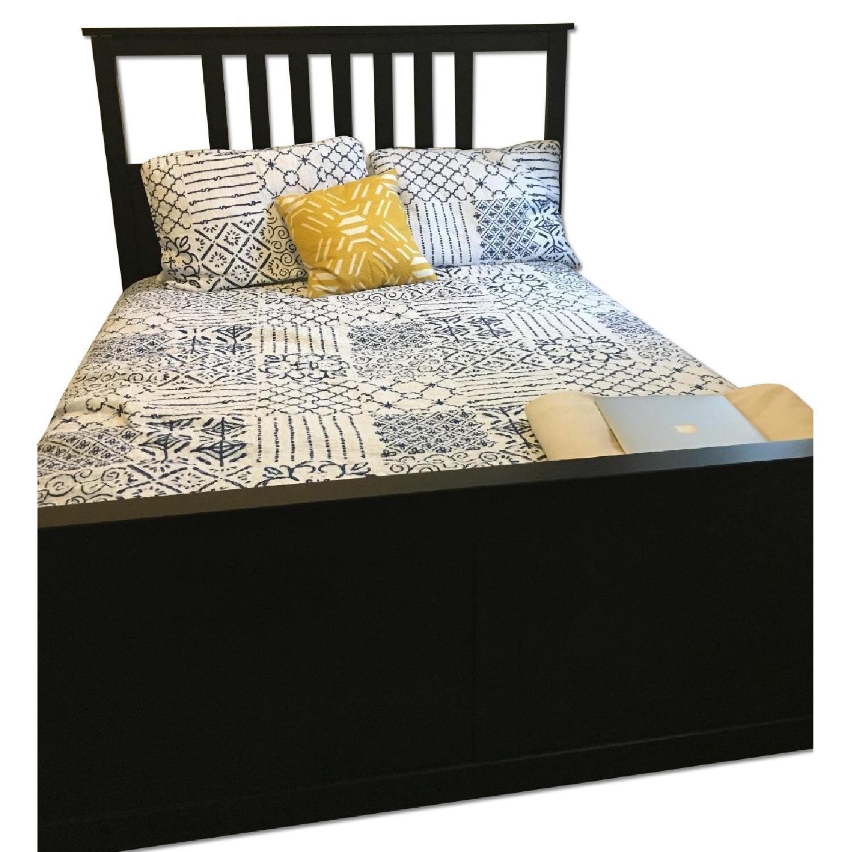 Ikea Hemnes Full Size Bed Frame - image-0