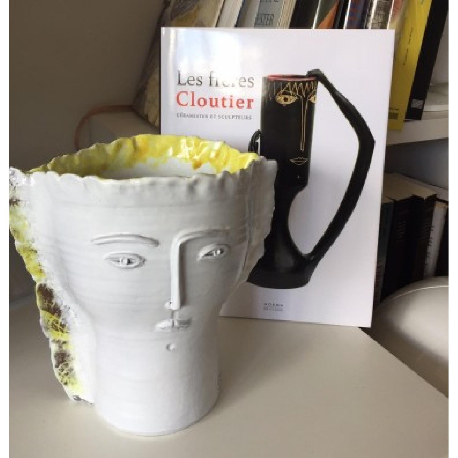 60's Cloutier Collectable Ceramic Vase - image-1
