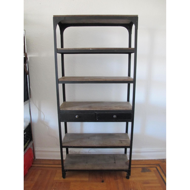 Anthropologie Decker 5 Shelf Bookself - image-1