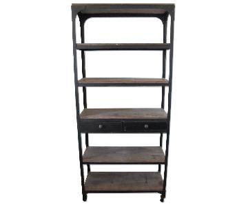 Anthropologie Decker 5 Shelf Bookself