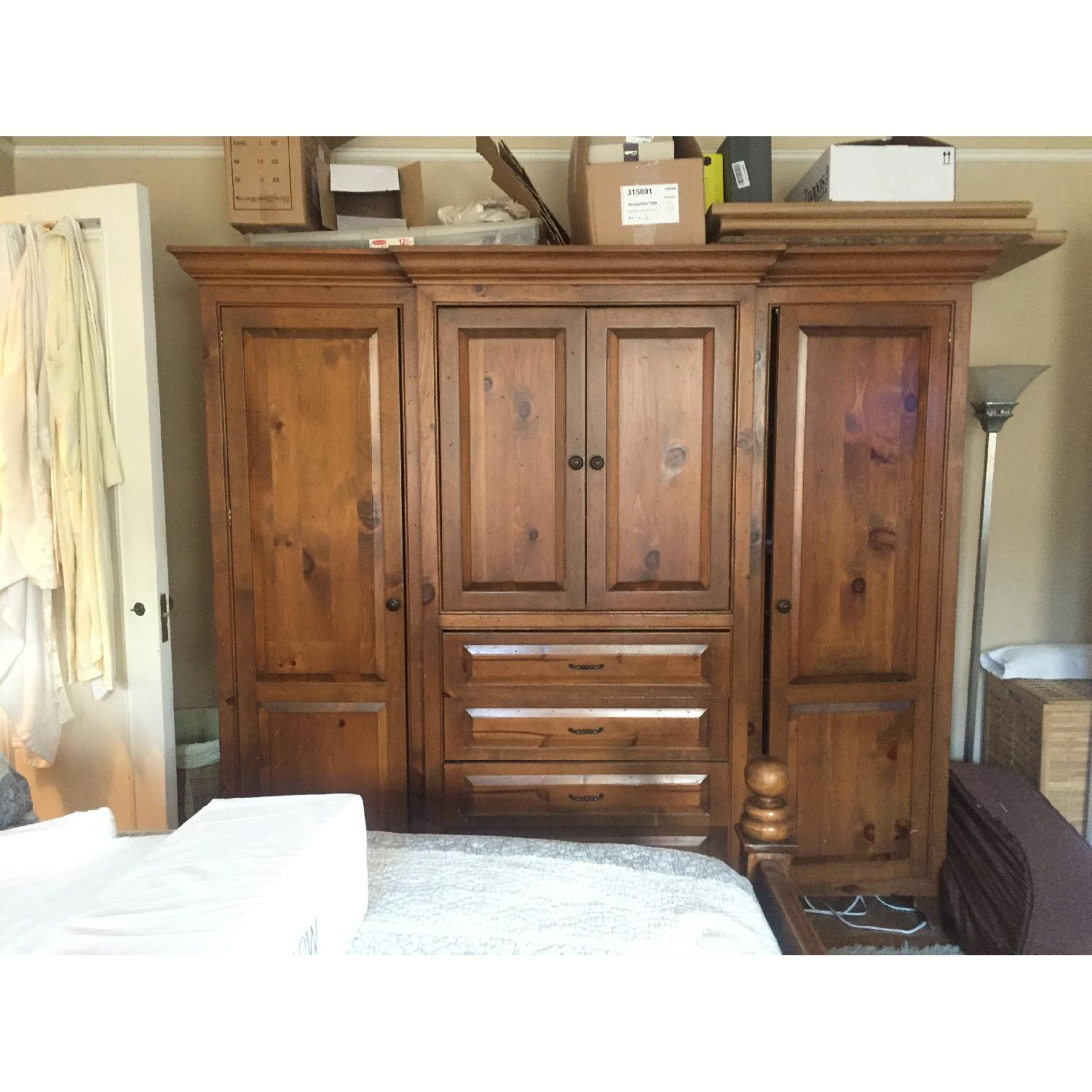 Custom Made Armoire - image-0