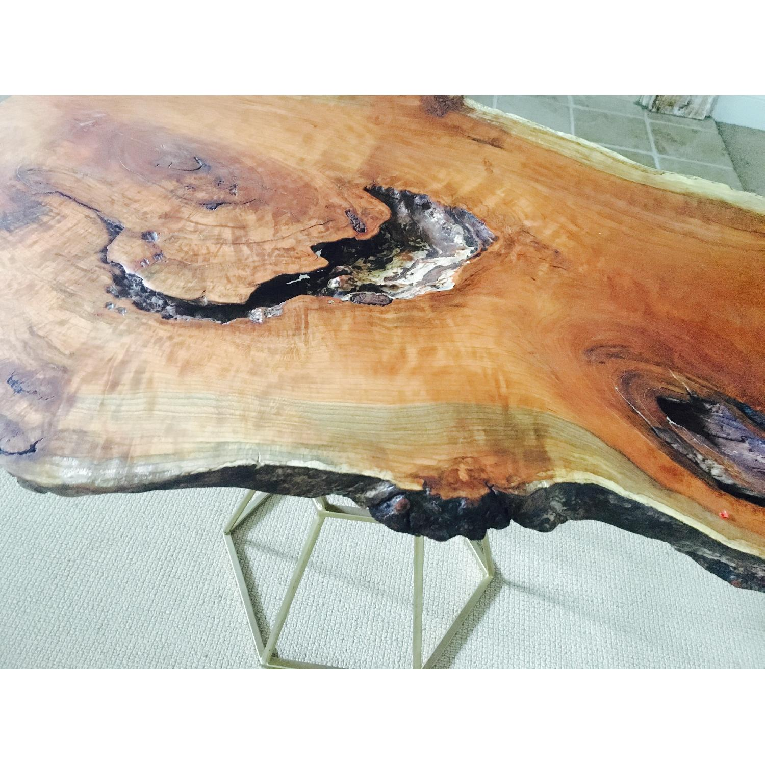 Live Edge Cherry Burl Coffee Table - image-2