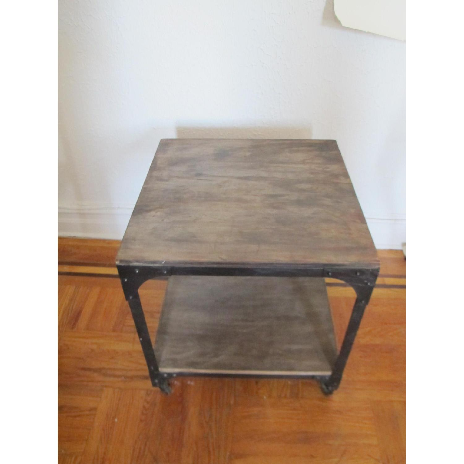 Anthropologie Decker Cube Side Tables/Consoles - image-1