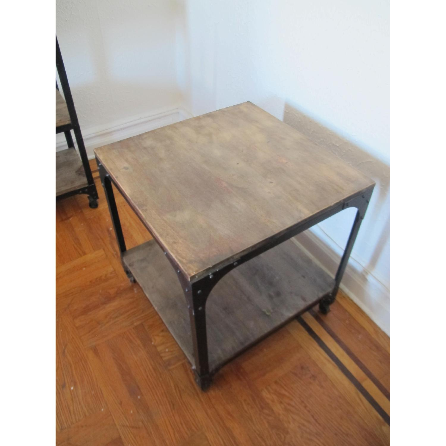 Anthropologie Decker Cube Side Tables/Consoles - image-2
