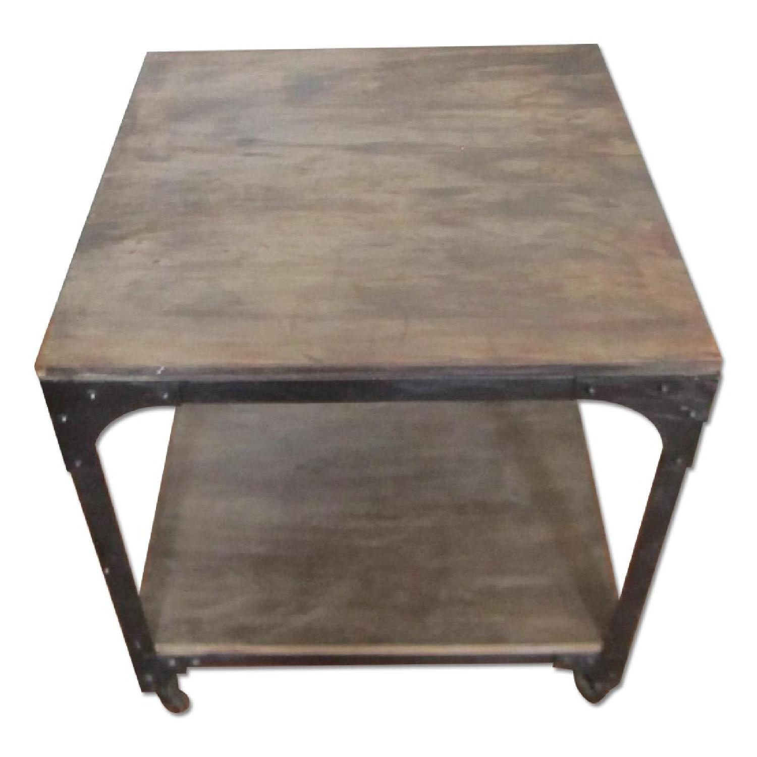 Anthropologie Decker Cube Side Tables/Consoles - image-0