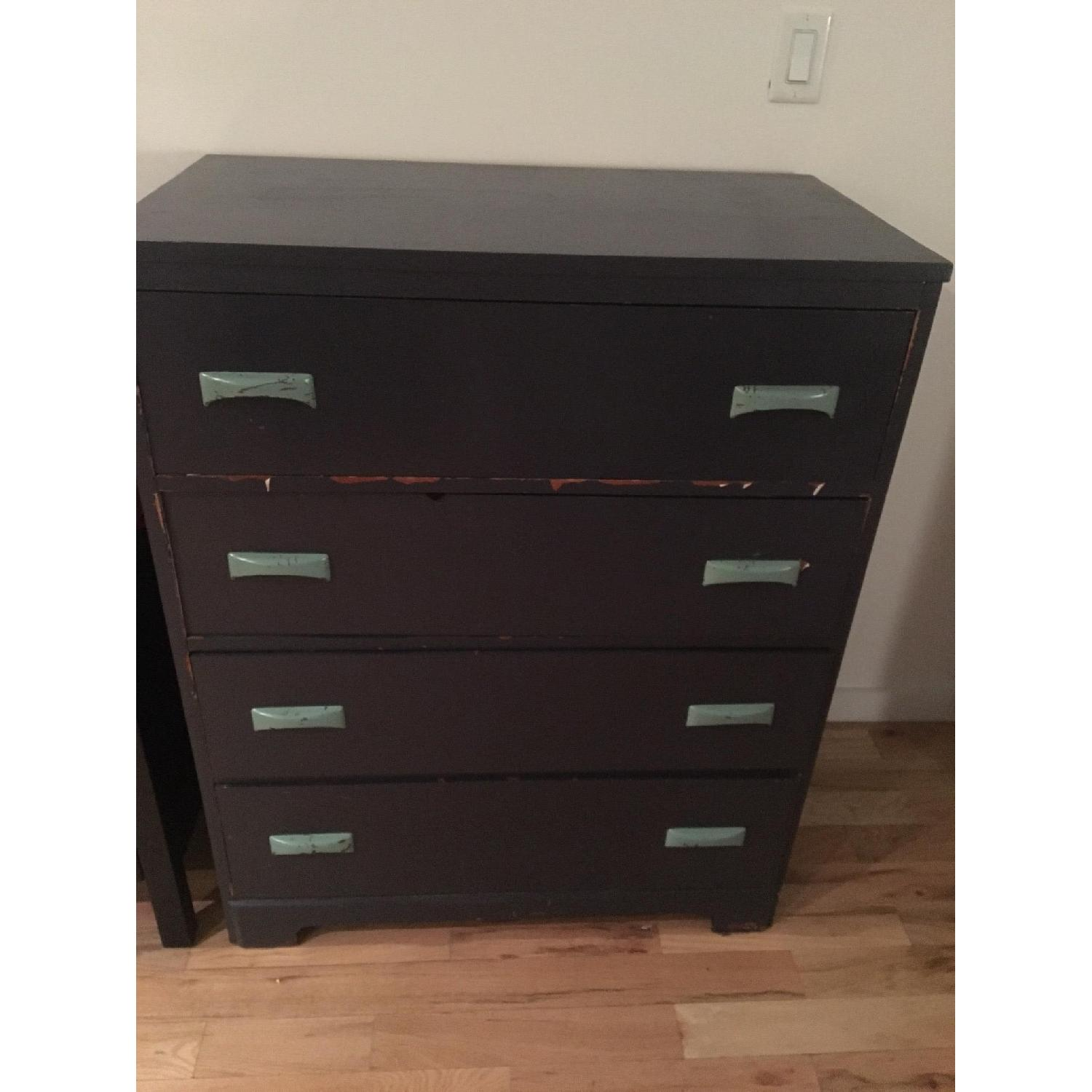 Hummel's Good Furniture Dark Blue Classic 4-Drawer Dresser - image-2