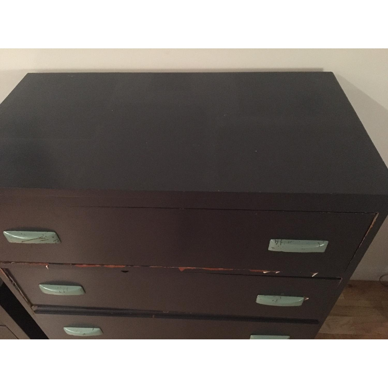 Hummel's Good Furniture Dark Blue Classic 4-Drawer Dresser - image-4