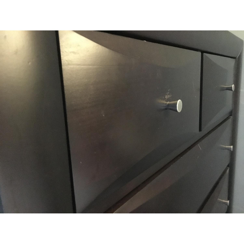 Dark Brown Modern Dresser - image-5