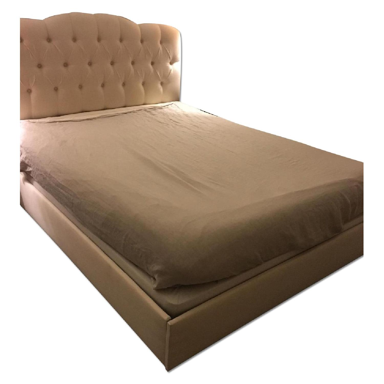 Joss & Main Queen Size Upholstered Bed Frame - image-0