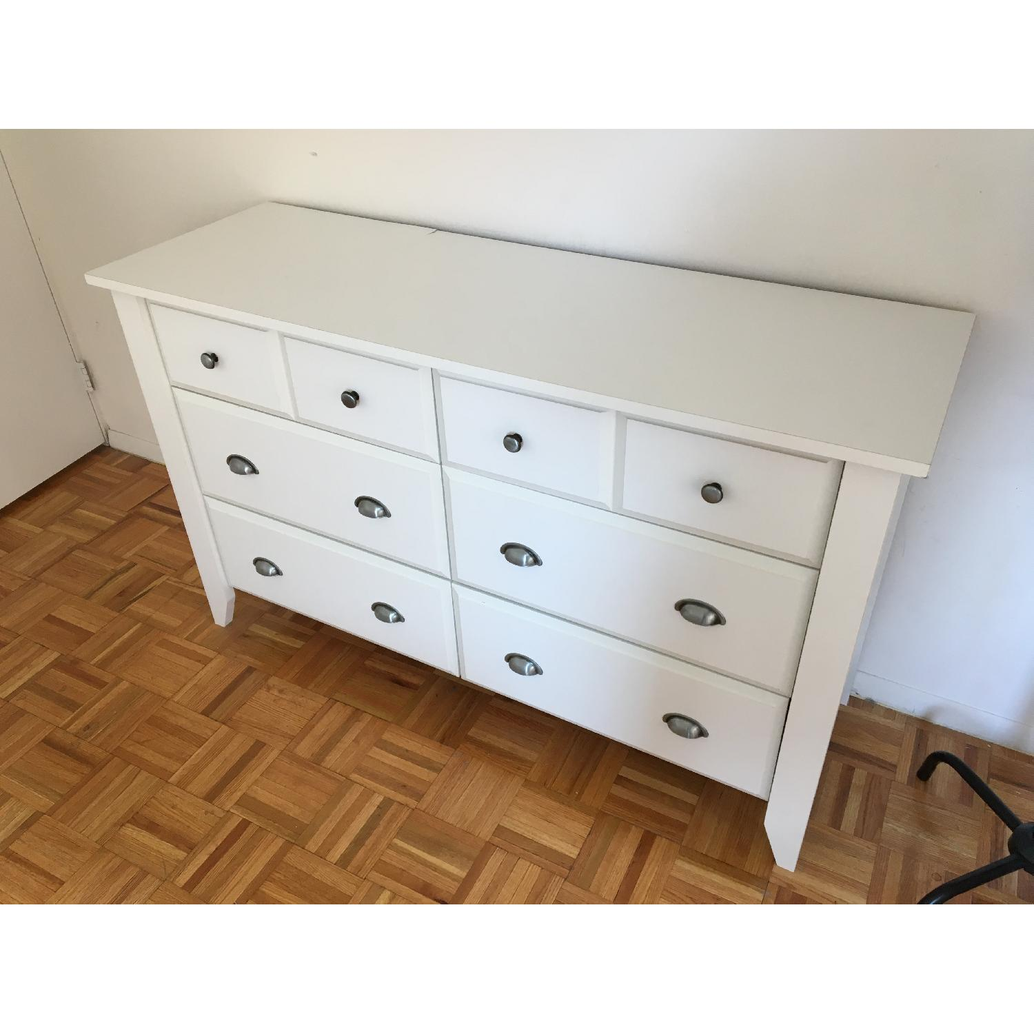 Sauder Shoal Creek Dresser in Soft White finish - image-5